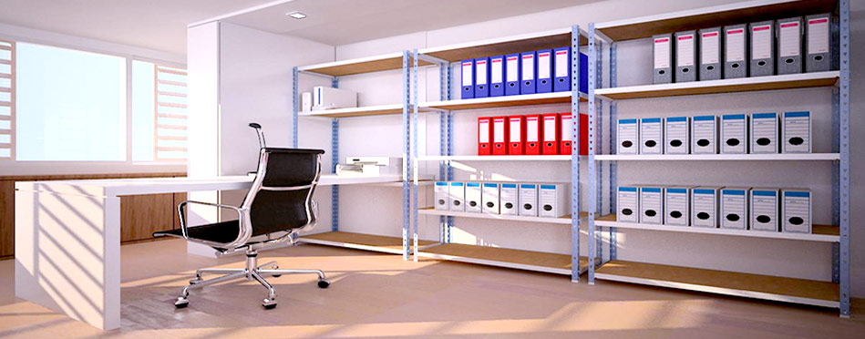 Furore estanter as met licas para oficinas estanter as - Estanterias metalicas de diseno ...